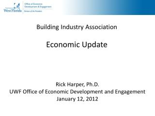 Building Industry Association Economic Update