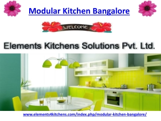 Modular Kitchen Bangalore
