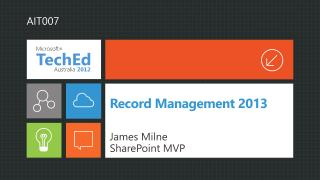 Record Management  2013