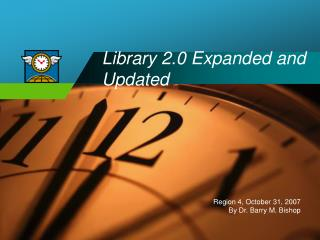 Library 2.0 Expanded and Updated