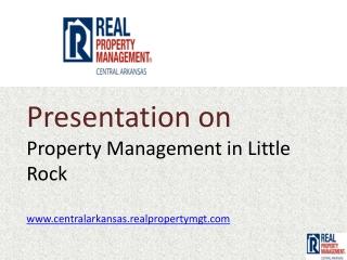 property management little rock