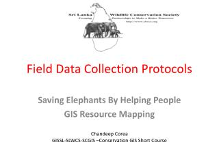Field Data Collection Protocols