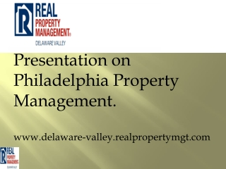 philadelphia property management companies