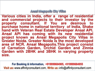 Ansal MegaPolis City Villas