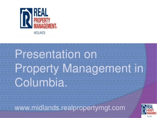 property management companies columbia sc