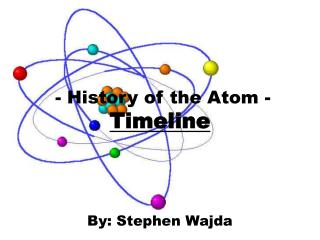 - History of the Atom - Timeline