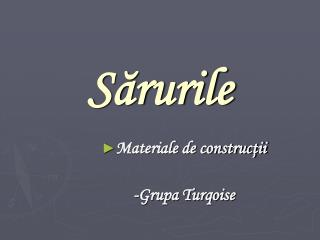 S?rurile