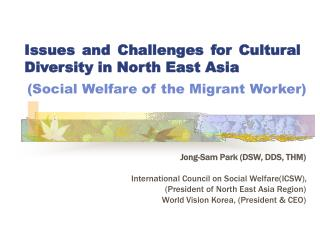 (Social Welfare of the Migrant Worker)