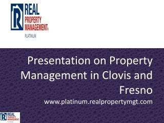 property management clovis