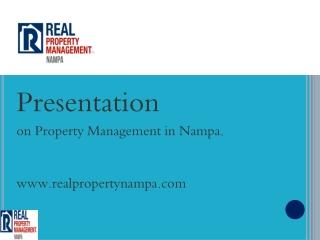 property management nampa idaho