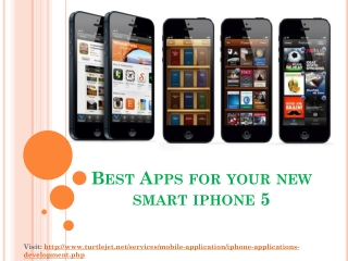 Best Apps for your new iPhone 5