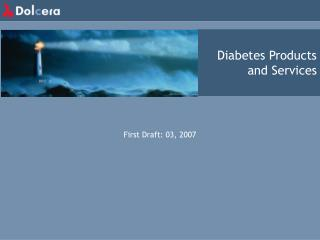 Diabetes Products and Services