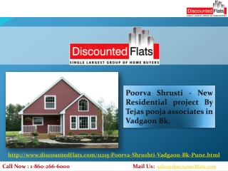 New Residential project By Tejas Pooja Associates