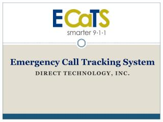 Emergency Call Tracking System
