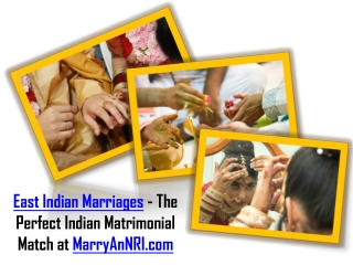 East Indian Marriages