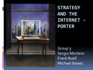 Strategy and the internet - porter