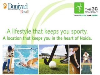 3C - Sports Village Noida CALL 9999987263 - Book Apartment