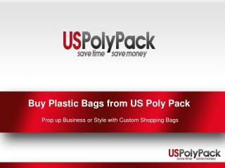 Purchase Plastic Shopping Bags from US Poly Pack