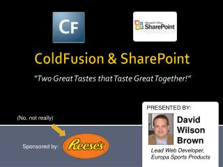 ColdFusion & SharePoint