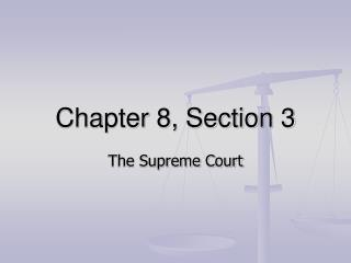 Chapter 8, Section 3