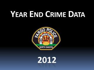 Year End Crime Data