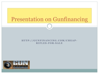 Gun Financing- Great Offers And Prices On All The Top Handg