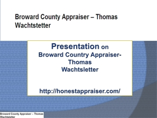 Get property appraisal from Expert!