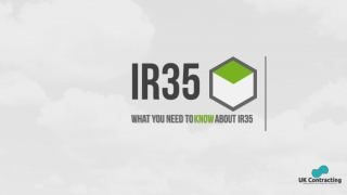 IR35 - What it means to you