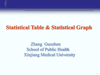 Statistical Table & Statistical Graph