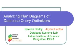 Analyzing Plan Diagrams of  Database Query Optimizers