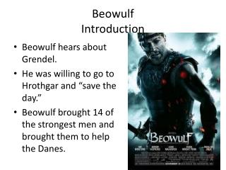 Beowulf Introduction
