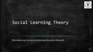 Social Learning Theory