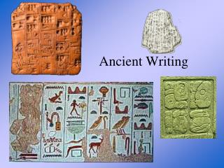 Ancient Writing