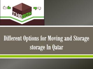 smart storage company in Qatar