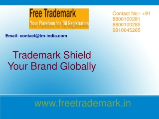 Trademark Shield Your Brand Globally