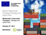 Kosovo Multimodal Transport Strategy and Action Plan