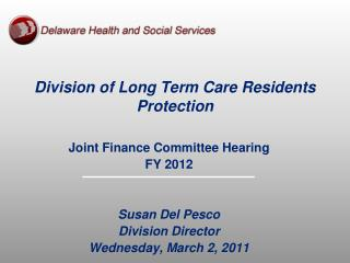Division of Long Term Care Residents Protection