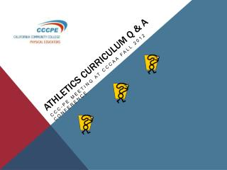 Athletics curriculum Q  A