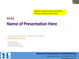 CBET Presentation