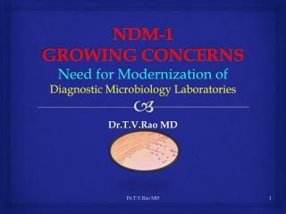 NDM - 1 Challenges to Medical Microbiology