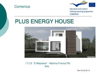 PLUS ENERGY HOUSE