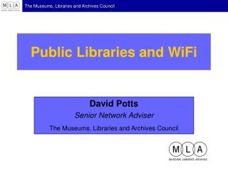 Public Libraries and WiFi