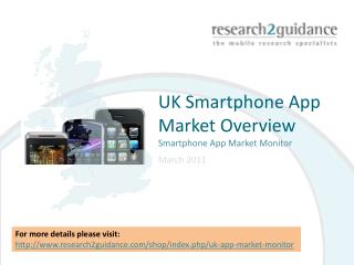 UK Smartphone App Market Overview