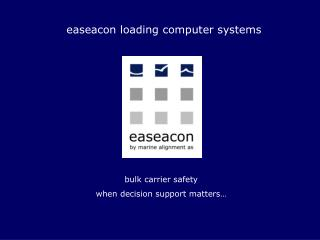 easeacon loading computer systems