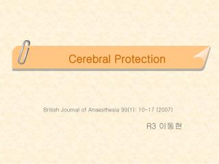 Cerebral Protection