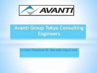 Avanti Group Tokyo Consulting Engineers