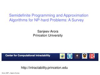 Semidefinite Programming and Approximation  Algorithms for NP-hard Problems: A Survey