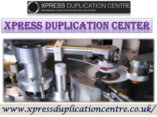 CD duplication services at its best