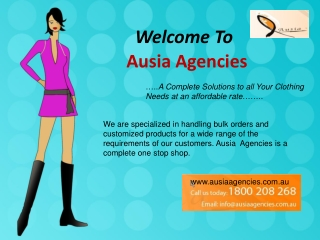 Complete apparel shopping solution