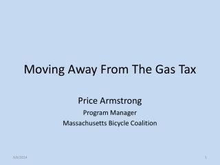 Moving Away From The Gas Tax